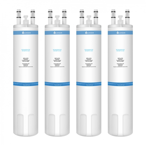 Bluaqua BL-Ultrawf Replacement water filter for Frigidaire Ultrawf Water Filter 4-pack