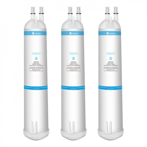Whirlpool Refrigerator Water Filter 3 EDR3RXD1 4396710 4396841 , Kenmore 9030 Water Filter, 3-Pack